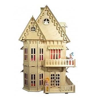 Новый деревянный кукольный Эко-домик мечты