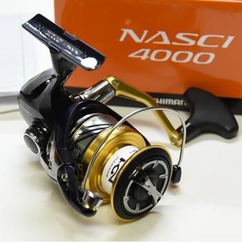 Катушка безынерционная Shimano 16 Nasci 4000 FB
