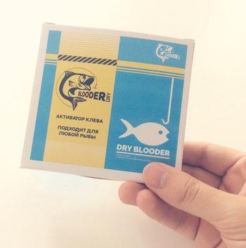 """Натуральная сухая кровь для рыбалки - """"Dry Blooder"""""""