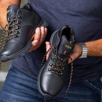 Ботинки ECCO Urban Black 7731 (Украина)