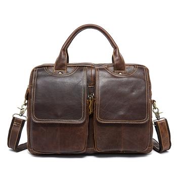 Мужская сумка Hamilton + Часы в подарок