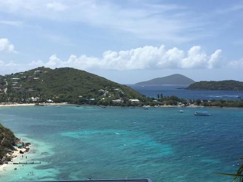 Thomas Islands Bay Sugar Map St Virgin Resort