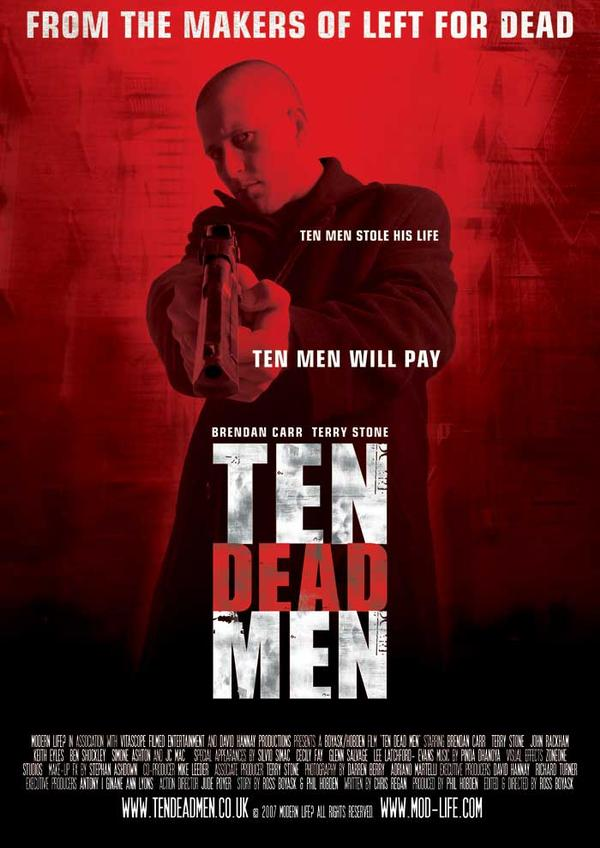 TEN DEAD MEN FILM POSTER in My Photos by Terry Stone