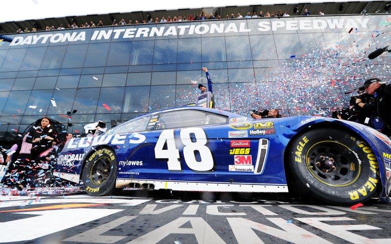 Jimmie Johnson - Daytona 500 - ESPN
