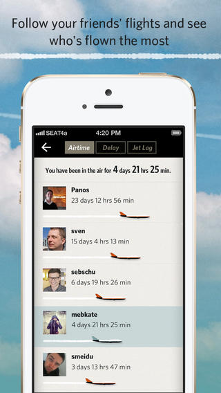 The Flying App - Free Air Travel App for all your Flights and every Airline Screenshot