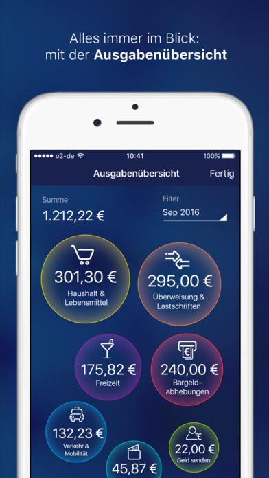 o2 Banking App: Online Konto plus Datenbonus Screenshot