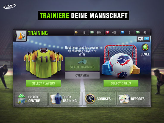 Top Eleven 2017  Fußball-Manager Screenshot