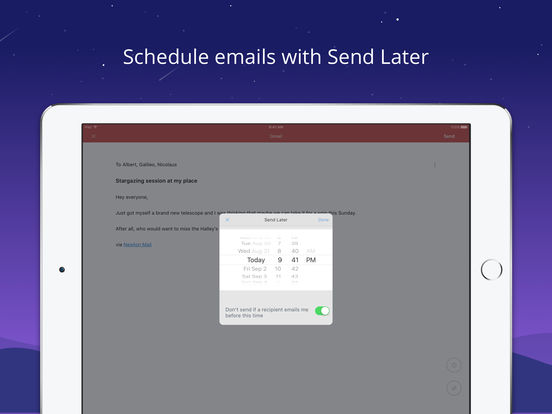 Newton Mail - E-Mail für Gmail, Outlook & Exchange Screenshot