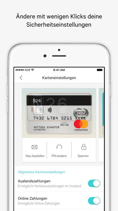 N26 – Banking by Design Screenshot