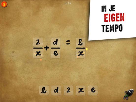 DragonBox Algebra 5+ Screenshot