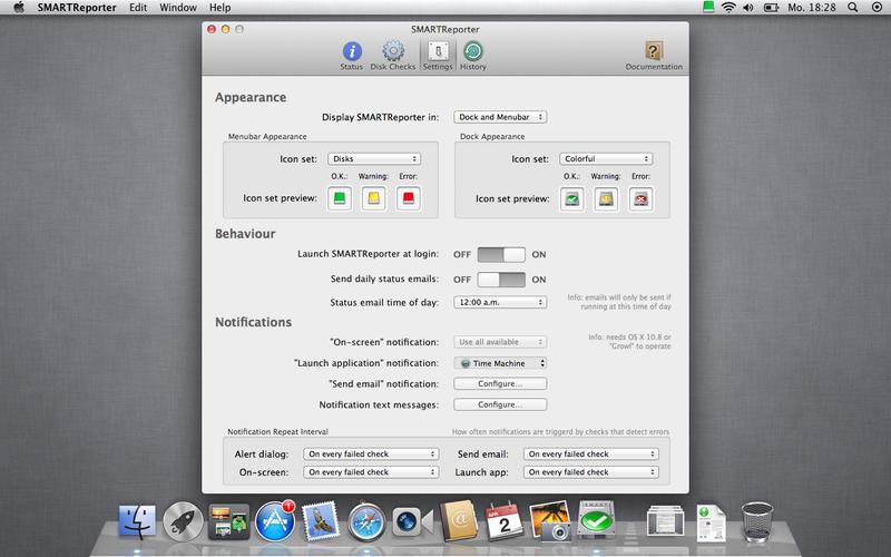 SMARTReporter for Mac 3.1.13 破解版 - 硬盘驱动器故障报警工具