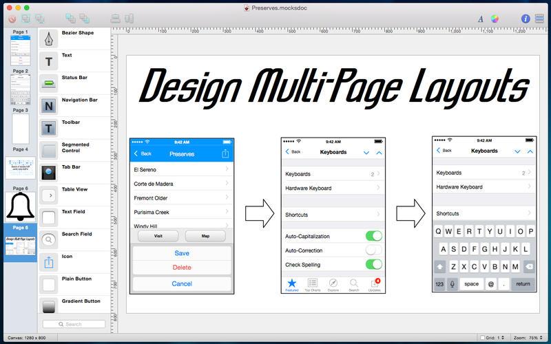 Mocks for Mac 2.6.5 破解版 - 优秀的移动UI原型设计工具