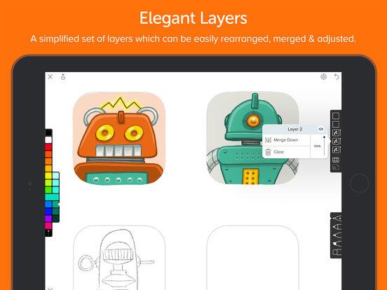Screenshot do app Linea - Sketch Simply