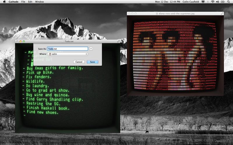 Cathode for Mac 2.4.1 破解版 - 复古界面且功能强大的终端工具