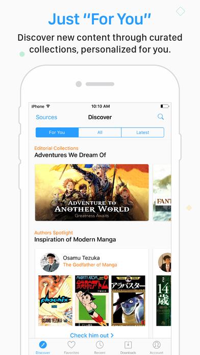 Manga Rock - Best Manga Reader Screenshot