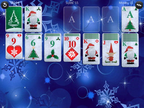 Christmas Play Solitaire