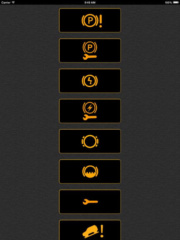 Mini Light Cooper Symbols Dash