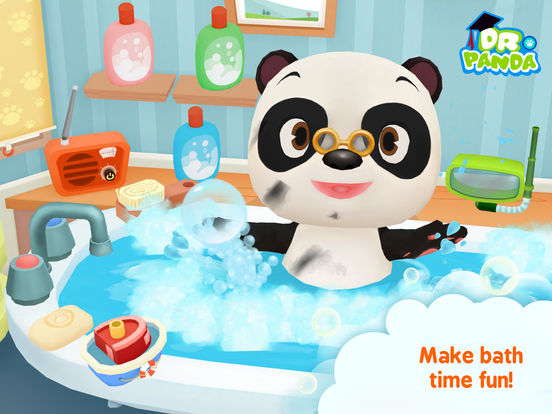 Dr. Panda Bath Time by Dr. Panda Games – Review