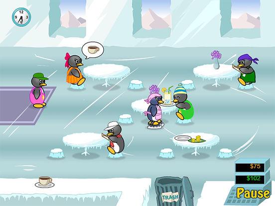 Restaurant Games Penguin Diner