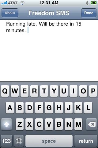 Freedom SMS