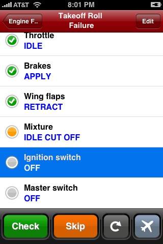 Checklist Pro: Intelligent Checklists for Pilots, Aircraft and Aviation