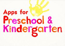 Apps for Preschool and Kindergarden