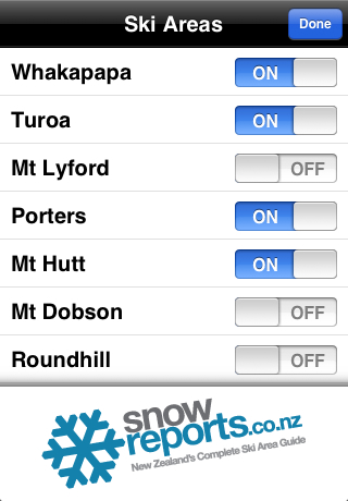 New Zealand Snow Reports