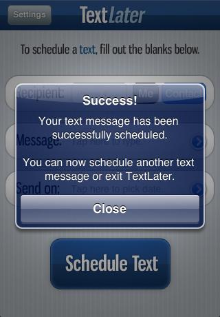 TextLater
