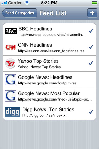 azRSS NewsReader