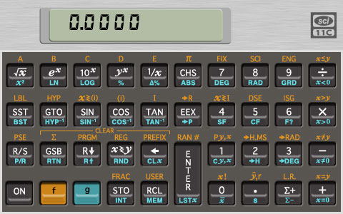 SCI-11C Scientific Calculator