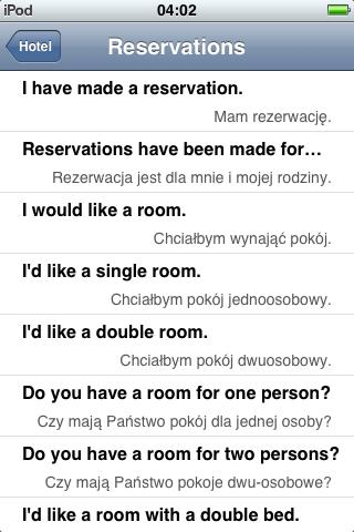 Jourist Visual PhraseBook Polish