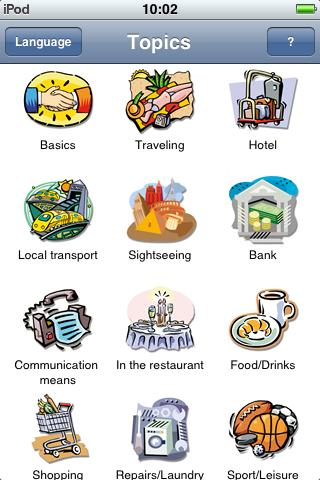 Jourist Visual PhraseBook Italian