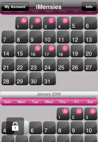 iMensies (Period Calendar)