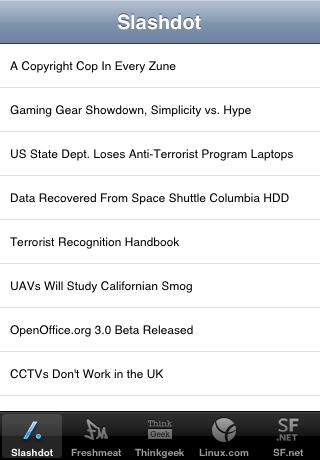 SourceForge Network News