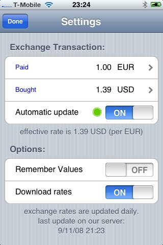 MoMPF CurrencyConverter