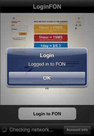 LoginFON