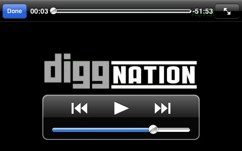 Diggnation On The Go