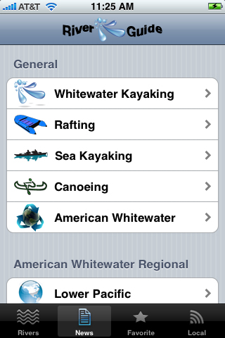 RiverGuide For Kayakers