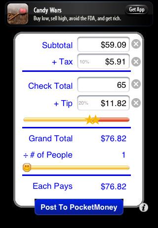 CheckPlease Lite - Tip Calculator