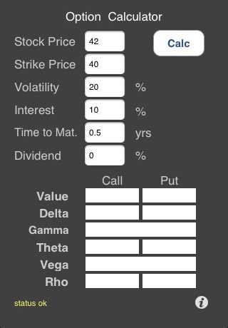 Option Pricer