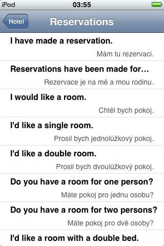 Jourist Visual PhraseBook Czech