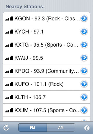 Local Radio Finder