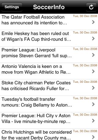 SoccerInfo