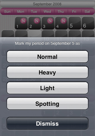 iMensies (Period Calendar)