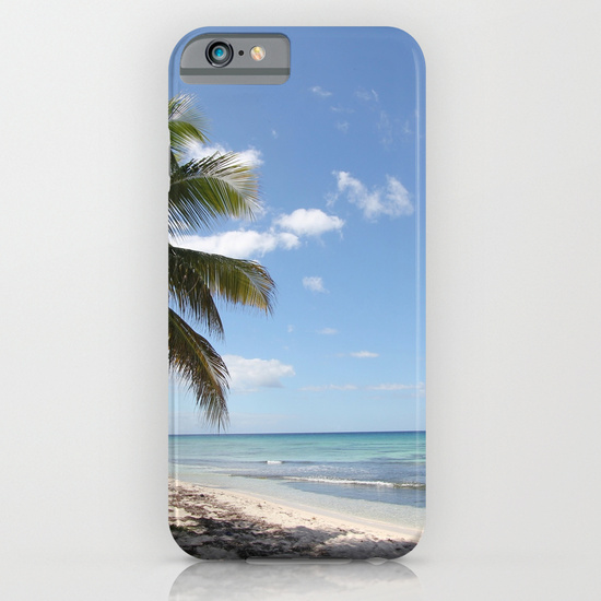 Isla Saona Caribbean Paradise Beach iPhone 6 Case by Christine aka stine1