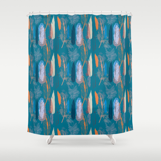 Feather Pattern done in vector to give a nice clean look, done in different shades of blue and orange. A lush and elegant teal, Biscay Bay splashes up against more heated tones with its cool touch. Combining the serene qualities of blue with the invigorating aspects of green, the cool and confident Biscay Bay inspires thoughts of soothing, tropical waters, taking us to a place that is pleasant and inviting. pattern, seamless, feather, feathers, feather pattern, blue, tropical, orange