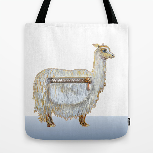 Pack Alpaca on Society6