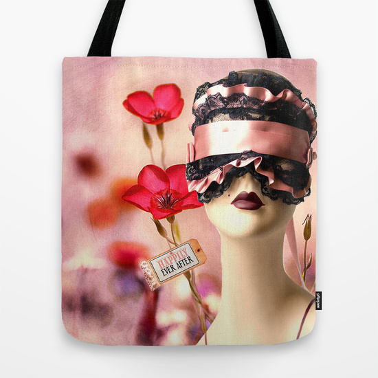 Faux Fairytale Tote Bag by Ampersand Artworks (Ornery Owl Arts) on Society6