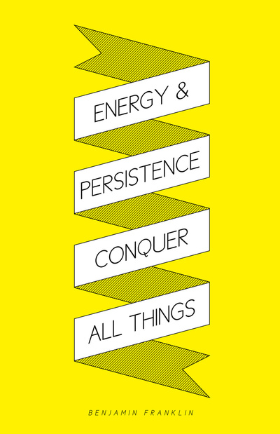 Energy & Persistence Art Print - Society6
