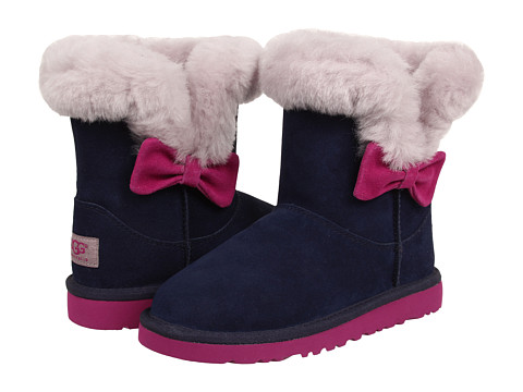 f75ffc80254 I spotted this amazing off-season bargain on 6pm!! You can snag the UGG  Kids Kourtney Boot (Little Kid Big Kid) for just  54.99 in the Peacoat  color and ...